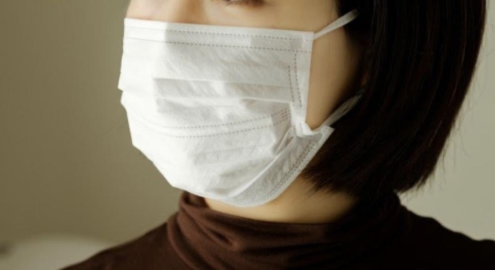 白色マスクの印象