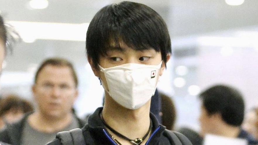 羽生結弦選手の洗えるマスク