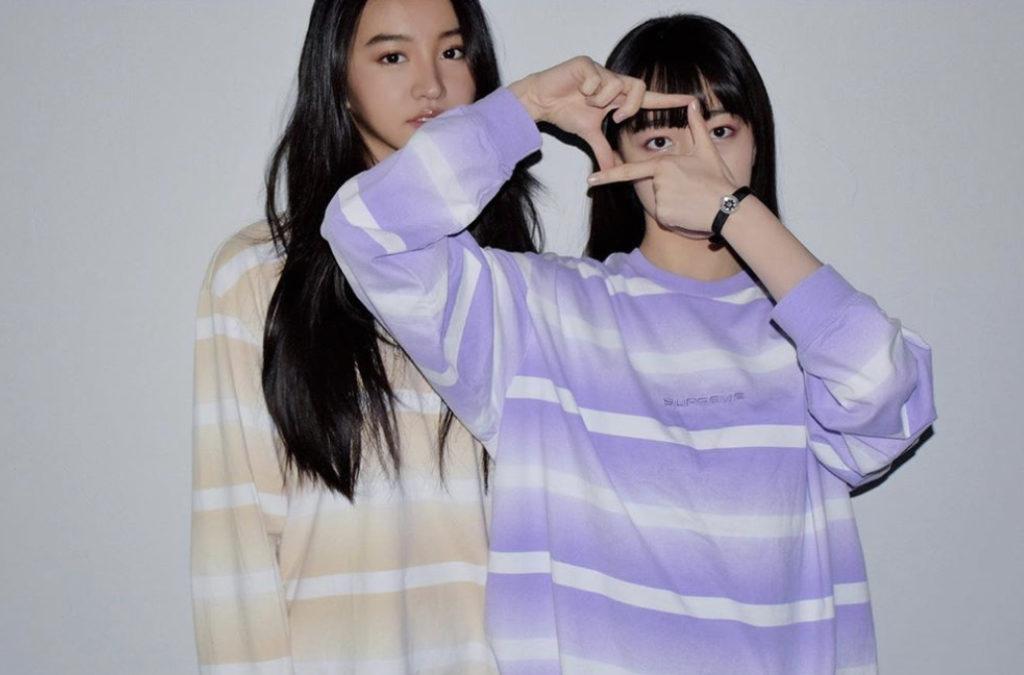 CocomiとKoki姉妹ショット