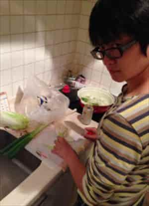 下野紘さんの子供用包丁