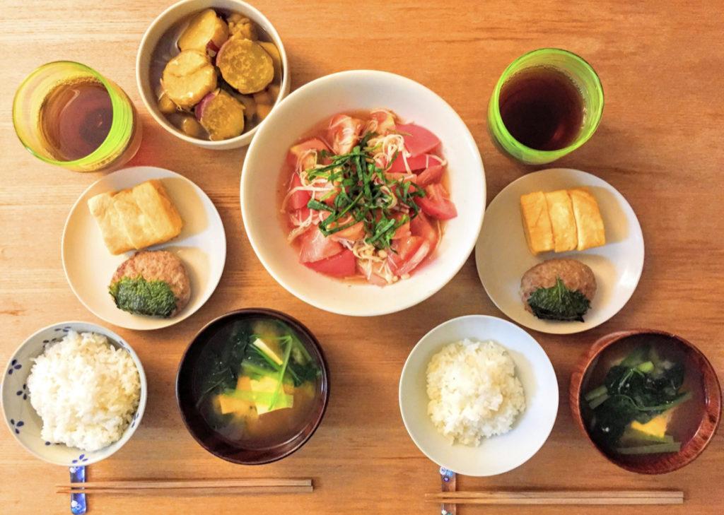 花江夏樹さんの嫁は料理が上手
