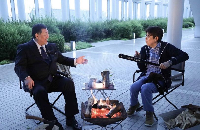 石橋貴明さんと清原和博さんがYouTubeで共演