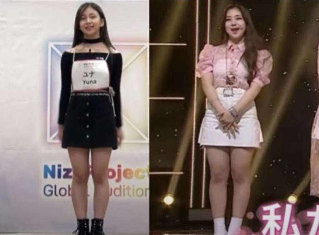 ユナさんの画像比較