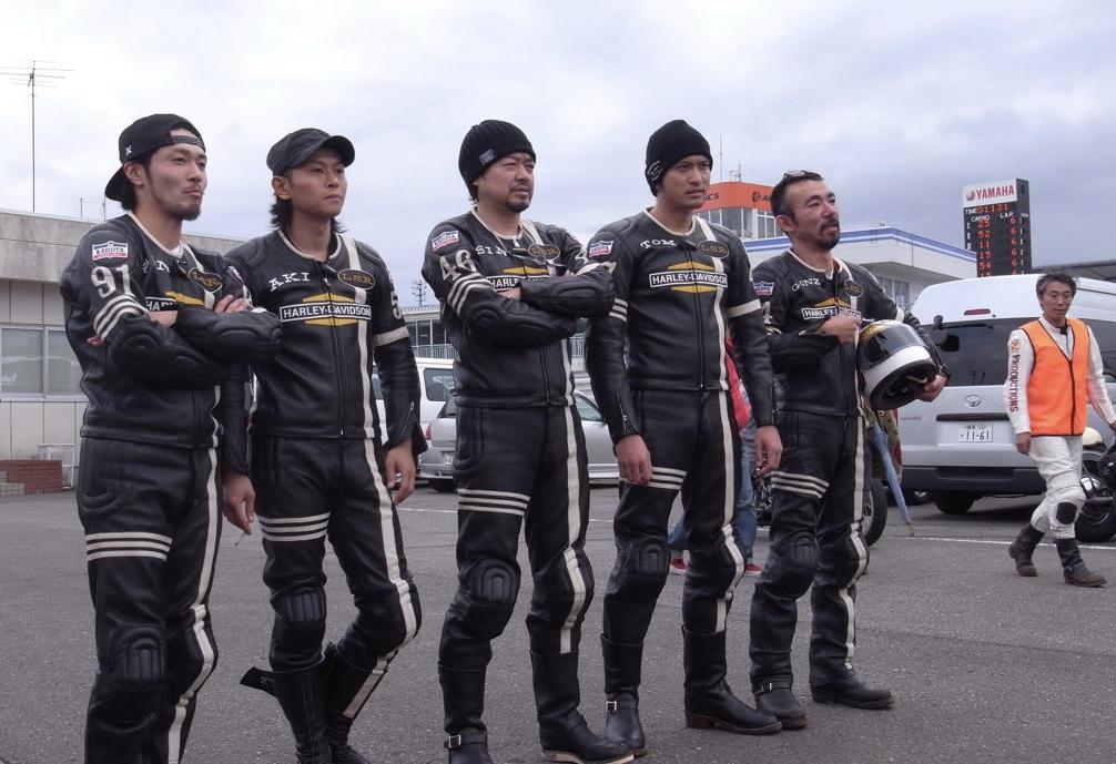 長瀬智也さん所属のバイクチーム