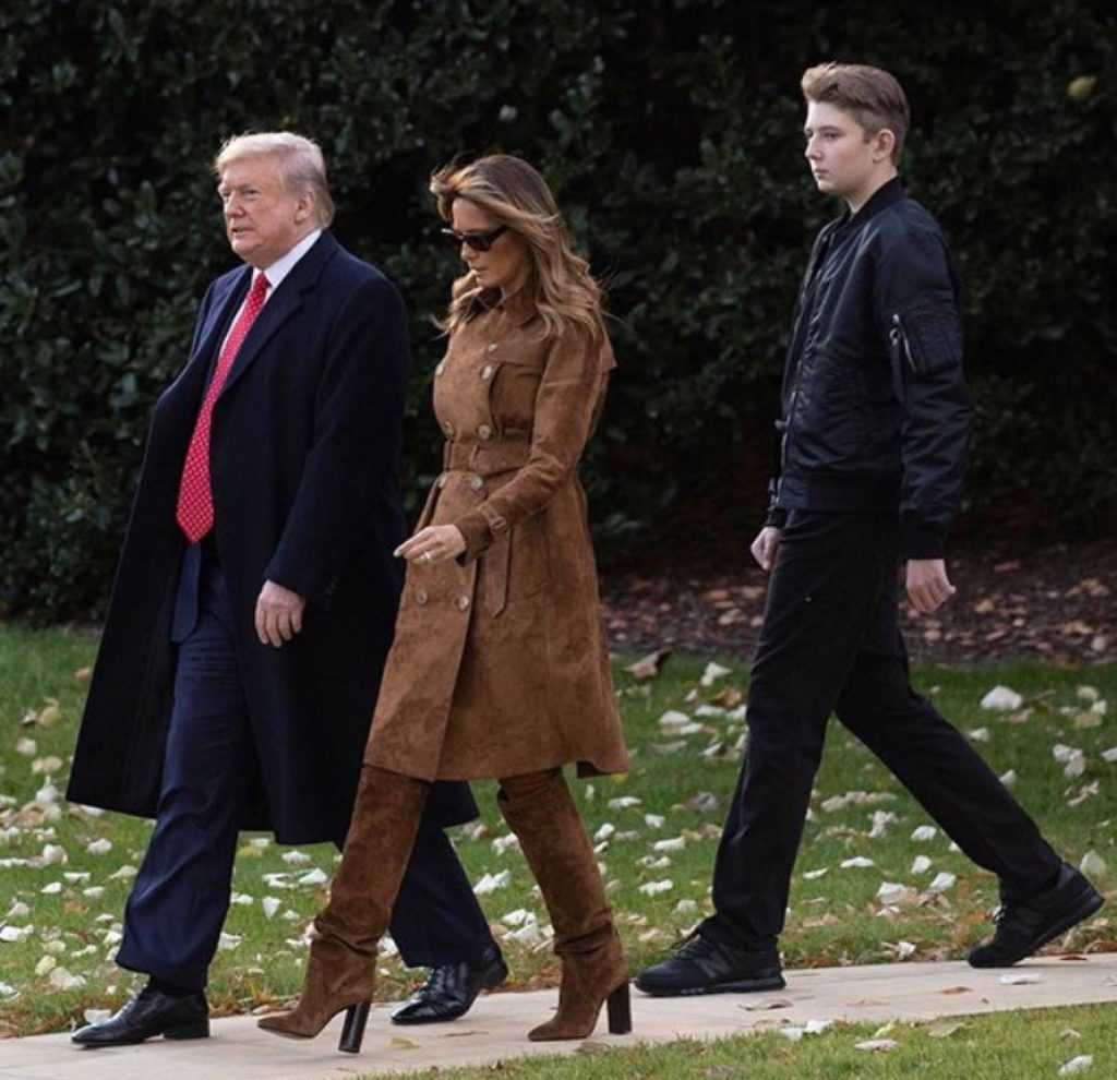 トランプ大統領とメラニア夫人の身長差は10cm