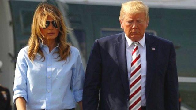 トランプ大統領とメラニア夫人の身長体重は?年齢差は24歳!子供は何人?