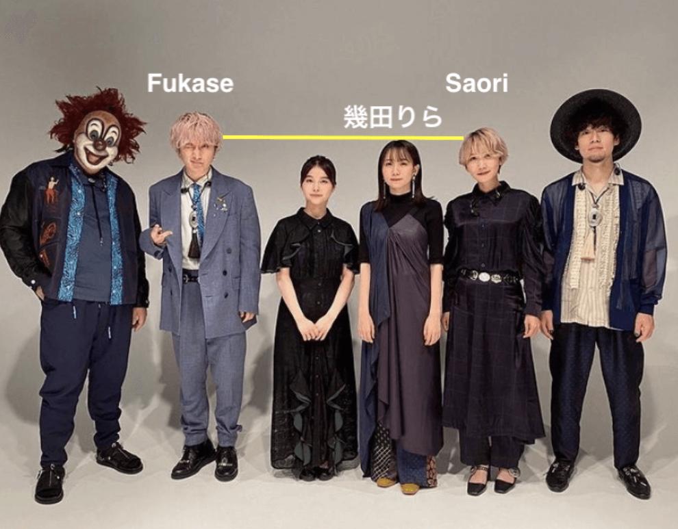 幾田りらさんの身長比較