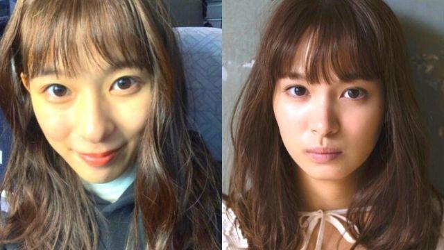 芳根京子さんと関水渚さんが似ている