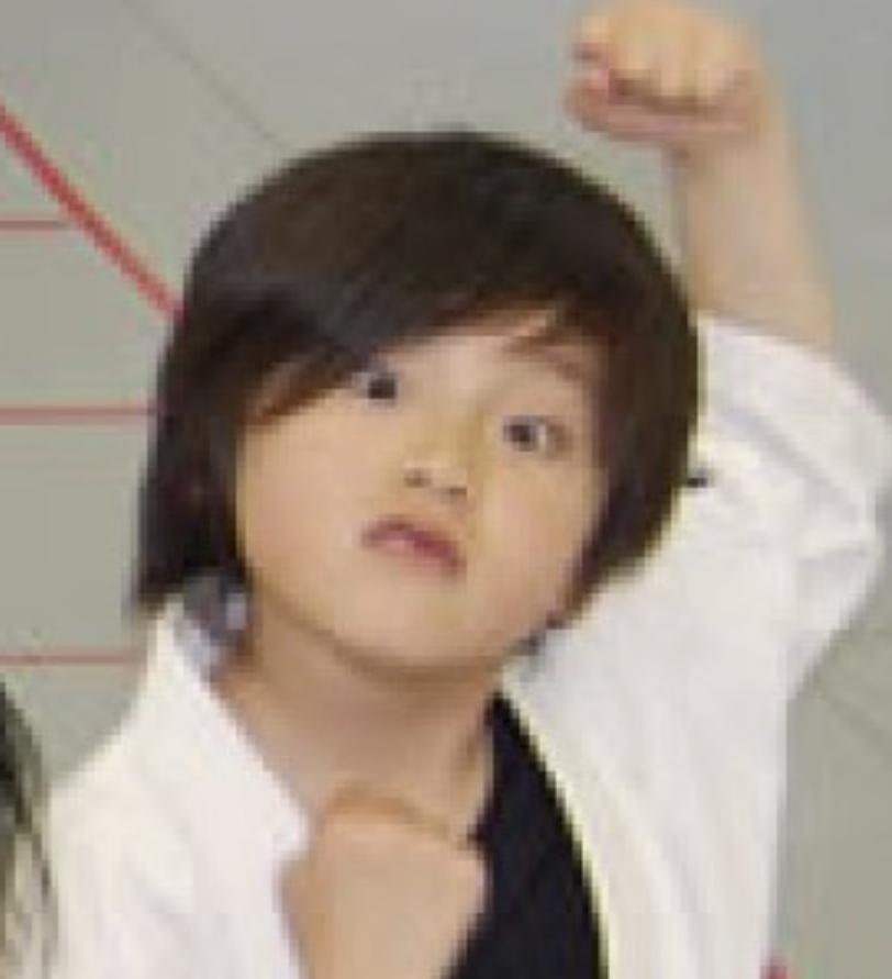 大久保波瑠さんは、幼い頃から格闘技をしていた